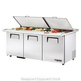 True TSSU-72-30M-B-DS-ST-ADA Mega Top Sandwich Unit