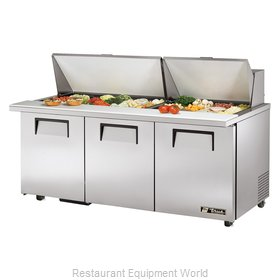 True TSSU-72-30M-B-ST-ADA Mega Top Sandwich Unit