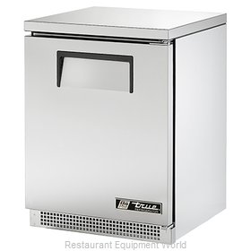 True TUC-24 Reach-in Undercounter Refrigerator 1 section