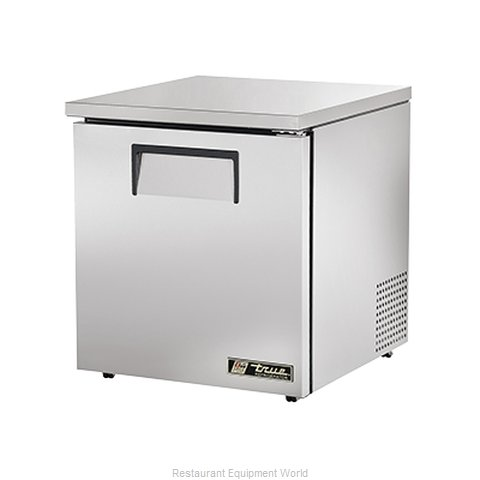 True TUC-27-LP Reach-in Undercounter Refrigerator 1 section