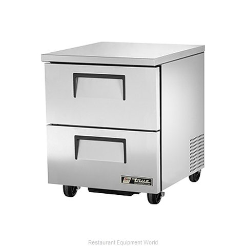 True TUC-27D-2 Undercounter Refrigerator (Magnified)