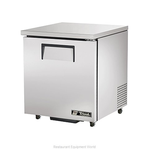 True TUC-27F-ADA Reach-In Undercounter Freezer 1 section (Magnified)