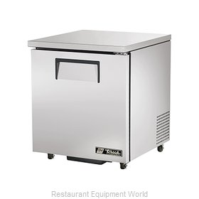 True TUC-27F-ADA Reach-In Undercounter Freezer 1 section