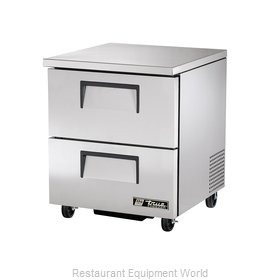 True TUC-27F-D-2-HC Freezer, Undercounter, Reach-In