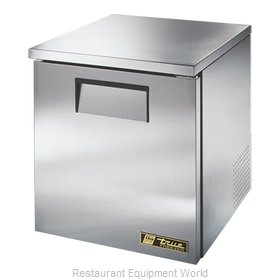 True TUC-27F-LP Reach-In Undercounter Freezer 1 section