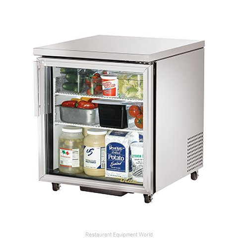 True TUC-27G-ADA Reach-in Undercounter Refrigerator 1 section (Magnified)