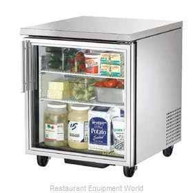 True TUC-27G-HC-LD Refrigerator, Undercounter, Reach-In