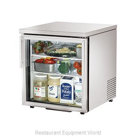 True TUC-27G-LP Reach-in Undercounter Refrigerator 1 section
