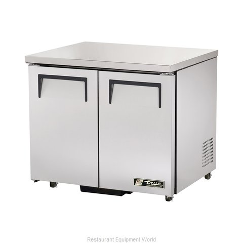 True TUC-36-ADA Reach-in Undercounter Refrigerator 2 section