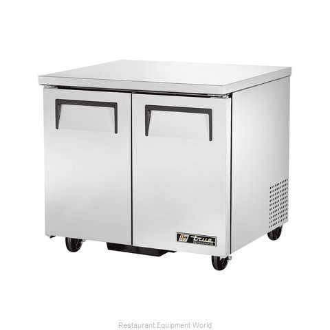True TUC-36 Undercounter Refrigerator - 8.5 cu. ft (Magnified)