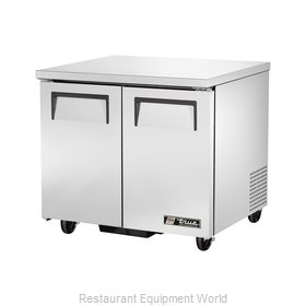 True TUC-36 Refrigerator, Undercounter, Reach-In