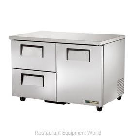 True TUC-48D-2-HC Refrigerator, Undercounter, Reach-In