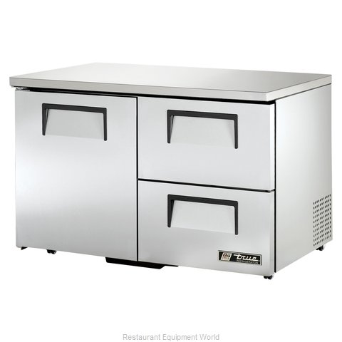 True TUC-48D-2-LP Reach-in Undercounter Refrigerator 2 section