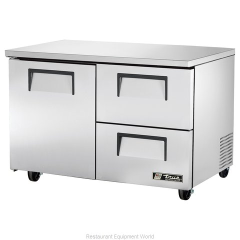 True TUC-48D-2 Reach-in Undercounter Refrigerator 2 section