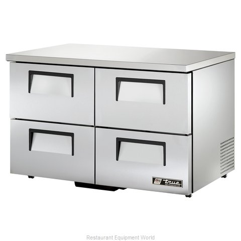 True TUC-48D-4-LP Reach-in Undercounter Refrigerator 2 section
