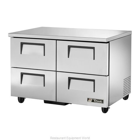 True TUC-48F-D-4 Reach-In Undercounter Freezer 2 section
