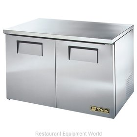 True TUC-48F-LP Reach-In Undercounter Freezer 2 section