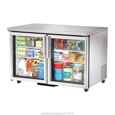 True TUC-48G-ADA Reach-in Undercounter Refrigerator 2 section
