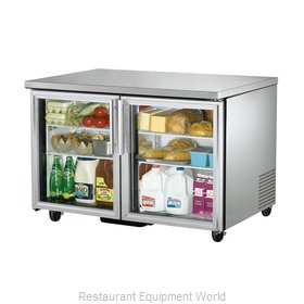 True TUC-48G-HC-LD Refrigerator, Undercounter, Reach-In