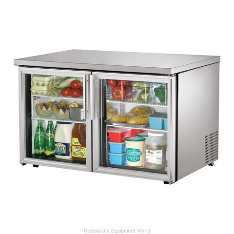 True TUC-48G-LP Reach-in Undercounter Refrigerator 2 section