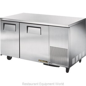 True TUC-60-32-HD Reach-in Undercounter Refrigerator 2 section