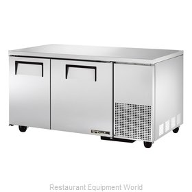 True TUC-60-32 Refrigerator, Undercounter, Reach-In