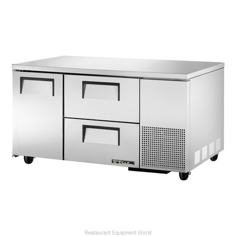 True TUC-60-32D-2 Undercounter Refrigerator (Magnified)