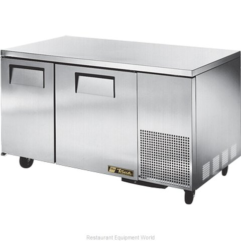 True TUC-60-32F-HD Reach-In Undercounter Freezer 2 section