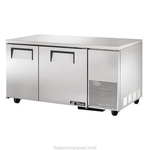 True TUC-60-32F Reach-In Undercounter Freezer 2 section