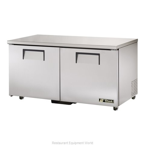 True TUC-60-ADA Reach-in Undercounter Refrigerator 2 section (Magnified)
