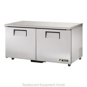 True TUC-60-ADA Reach-in Undercounter Refrigerator 2 section