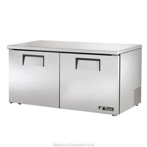 True TUC-60-LP Reach-in Undercounter Refrigerator 2 section