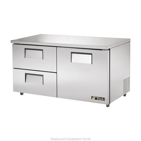 True TUC-60D-2-ADA Reach-in Undercounter Refrigerator 2 section