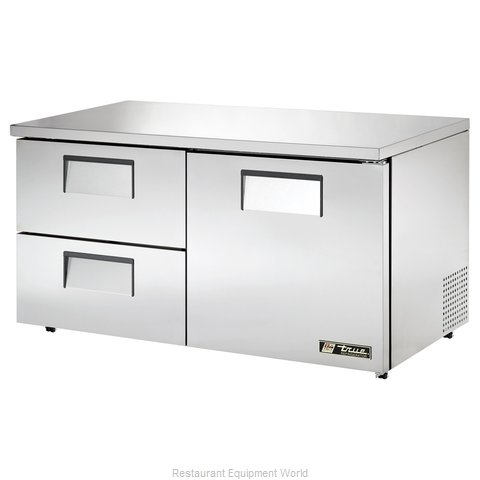 True TUC-60D-2-LP Reach-in Undercounter Refrigerator 2 section
