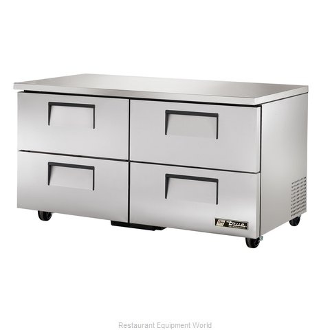 True TUC-60D-4 Undercounter Refrigerator (Magnified)