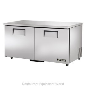 True TUC-60F-ADA Reach-In Undercounter Freezer 2 section