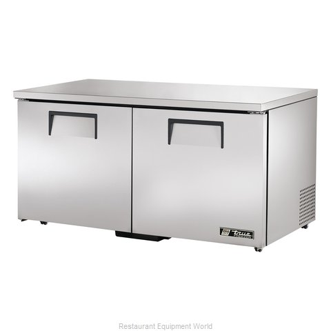 True TUC-60F-LP Reach-In Undercounter Freezer 2 section