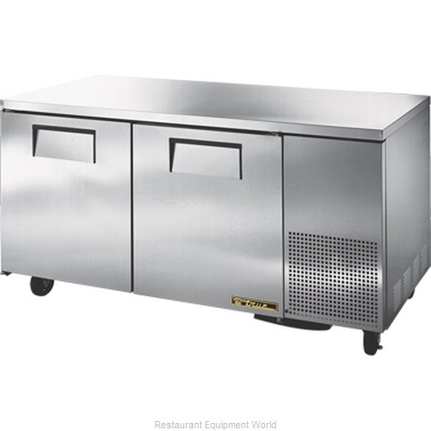 True TUC-67-HD Reach-in Undercounter Refrigerator 2 section