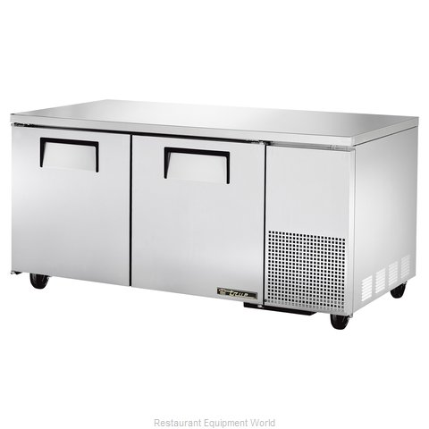 True TUC-67 Deep Undercounter Refrigerator (Magnified)