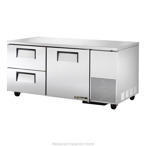 True TUC-67D-2 Undercounter Refrigerator (Magnified)