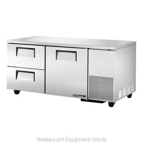 True TUC-67D-2 Refrigerator, Undercounter, Reach-In