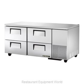True TUC-67D-4 Refrigerator, Undercounter, Reach-In