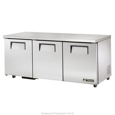 True TUC-72-ADA Reach-in Undercounter Refrigerator 3 section