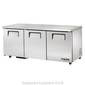 True TUC-72-ADA Refrigerator, Undercounter, Reach-In
