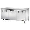True TUC-72-HC Refrigerator, Undercounter, Reach-In
