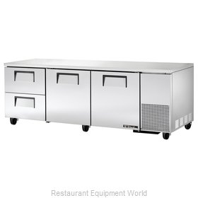 True TUC-93D-2 Refrigerator Undercounter Reach-In