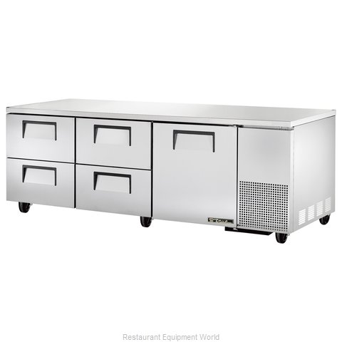 True TUC-93D-4 Refrigerator Undercounter Reach-In
