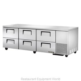 True TUC-93D-6 Refrigerator, Undercounter, Reach-In