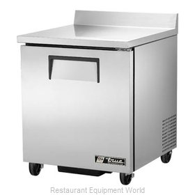 True TWT-27-HC Refrigerated Counter, Work Top