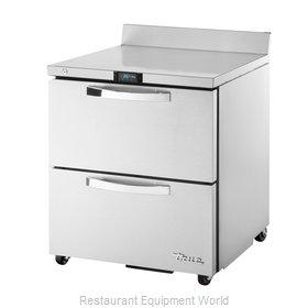 True TWT-27D-2-ADA-HC~SPEC1 Refrigerated Counter, Work Top